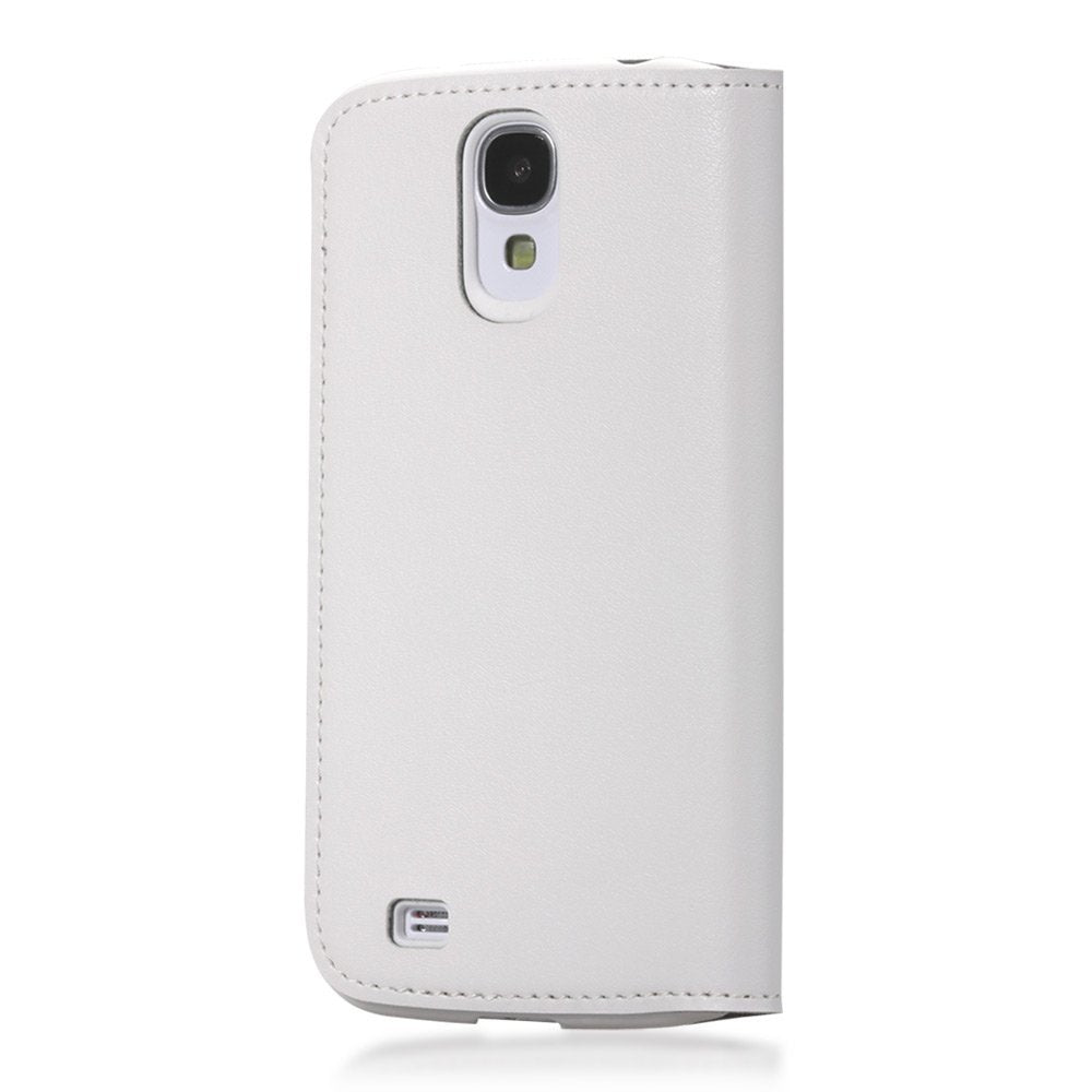 GGMM Kiss Real Leather Case for Samsung Galaxy S4 - White - Gearlyst