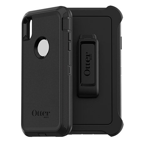 "OtterBox Defender Rugged Case For iPhone Xs Max (6.5"") - Black - Gearlyst"