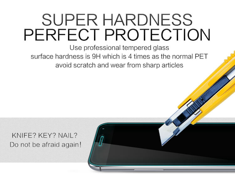 Nillkin H+ 9H Tempered Glass Screen Protector for Meizu MX4 Pro - Gearlyst