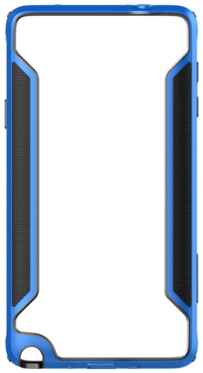 Nillkin Slim Border Series Bumber Case (Blue) for Samsung Galaxy Note 4 - Gearlyst