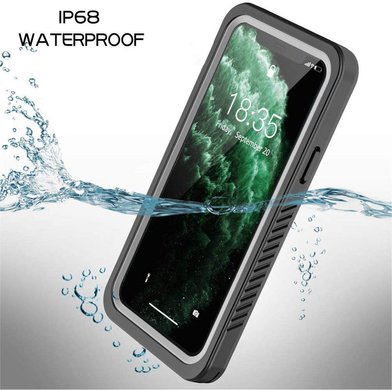 "SFPro Shock, Drop-proof Waterproof Case for iPhone 11 Pro 5.8"" - Black/Clear"