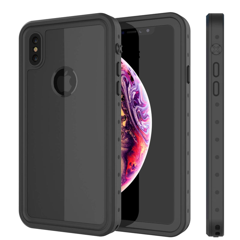 UDUN iPhone Xs Max Waterproof Shockproof Rugged Case  - Black - Gearlyst