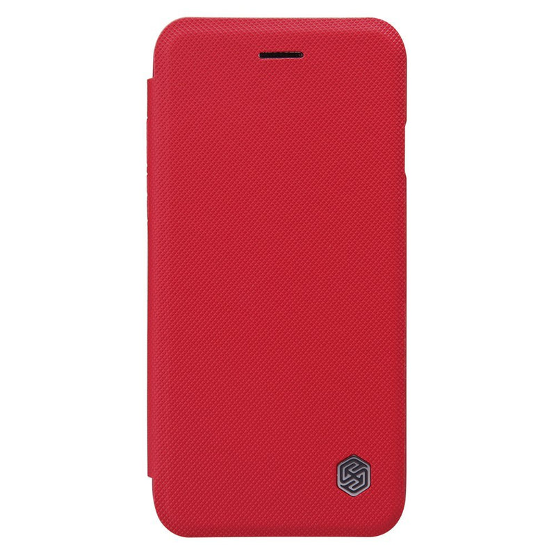 Nillkin MING iPhone 6 /6s Leather Case with Card Slot - Red - Gearlyst