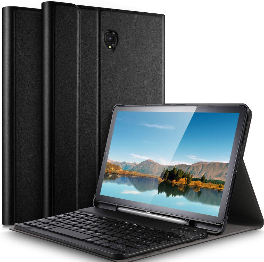 Detachable Wireless Keyboard Case for Samsung Galaxy Tab S4 10.5 inch 2018 Black