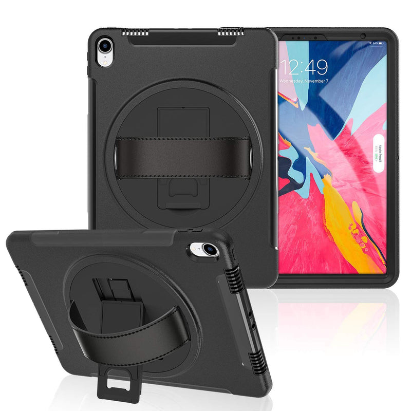 iPad Pro 11 inch (2018) Full-Body Rugged Case with Built-in Screen Protector & Kick Stand - Gearlyst