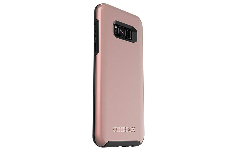 OtterBox Symmetry Case for Samsung Galaxy S8+  - Pink Gold (Black/Pink Gold Graphic) - Gearlyst