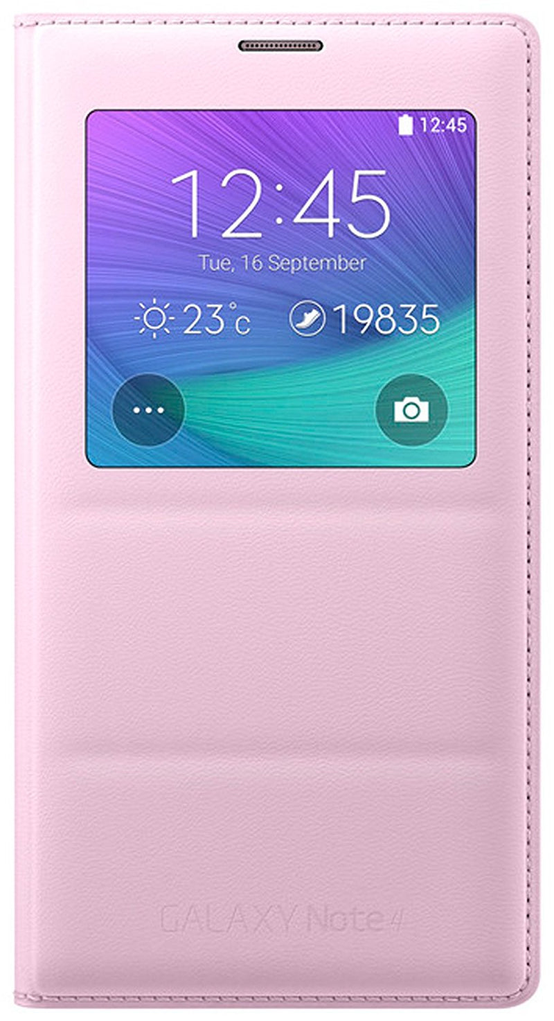 HOCO Smart Window Leather Case for Samsung Galaxy NOTE 3 - PINK - Gearlyst