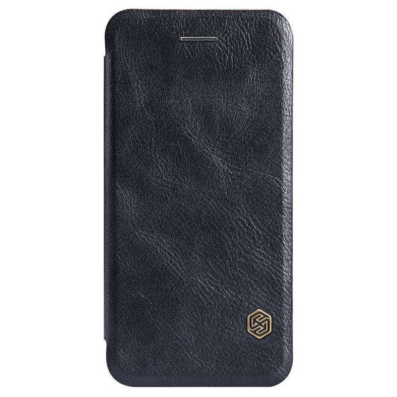 Nillkin QIN iPhone 6 / 6s Slim Leather Wallet Case - Black - Gearlyst