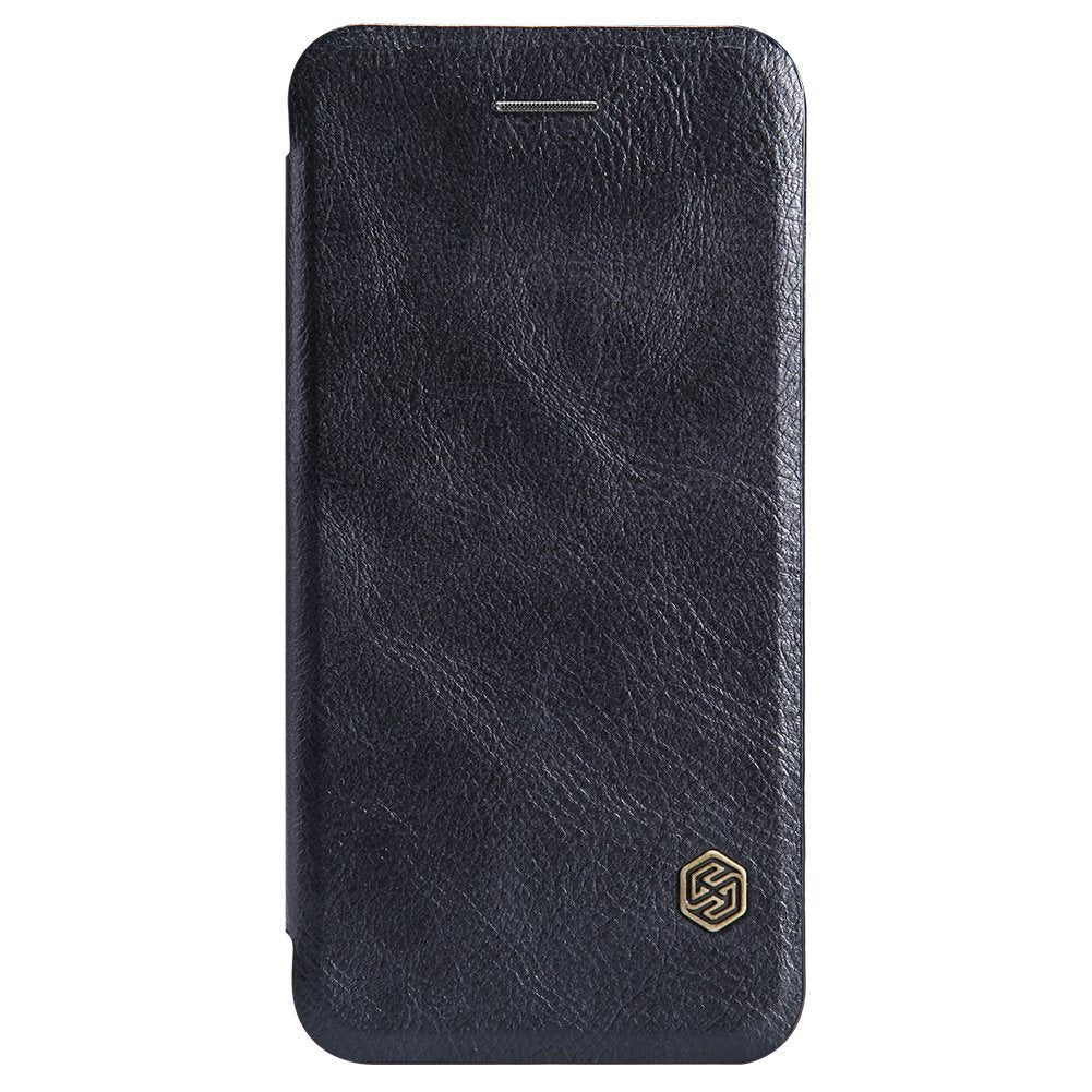 Nillkin QIN iPhone 6 Plus / 6s Plus Slim Leather Wallet Case - Black - Gearlyst