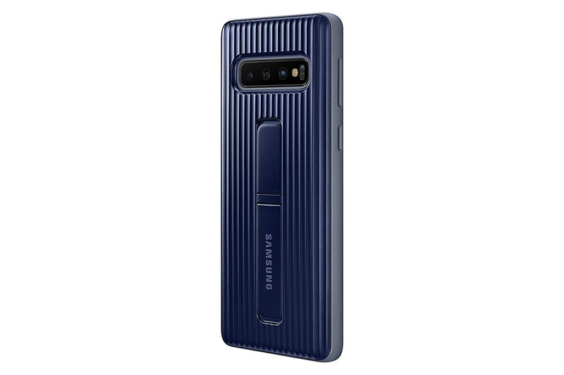 Offical Samsung Galaxy S10 Protective Standing Slim Cover - Black - Gearlyst