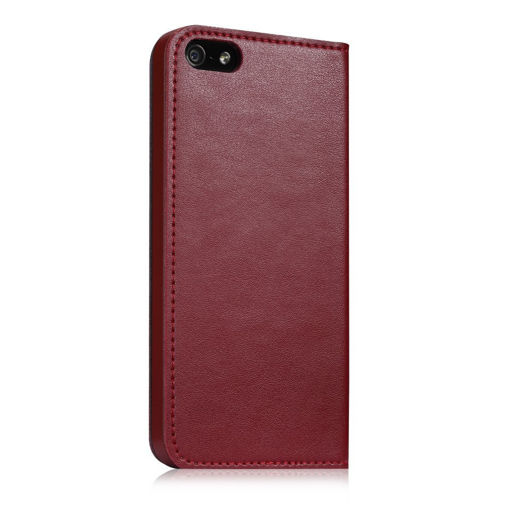 GGMM Genuine Leather Case for iPhone 4/4s - Red - Gearlyst