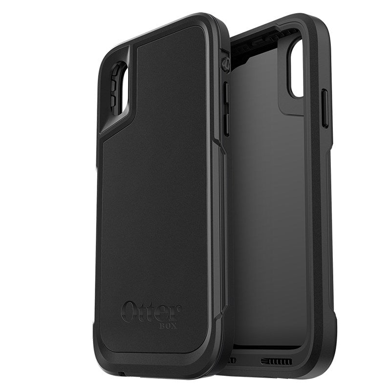 new product 9fdc1 ab440 OtterBox Pursuit Tough Rugged Case For iPhone X - Black