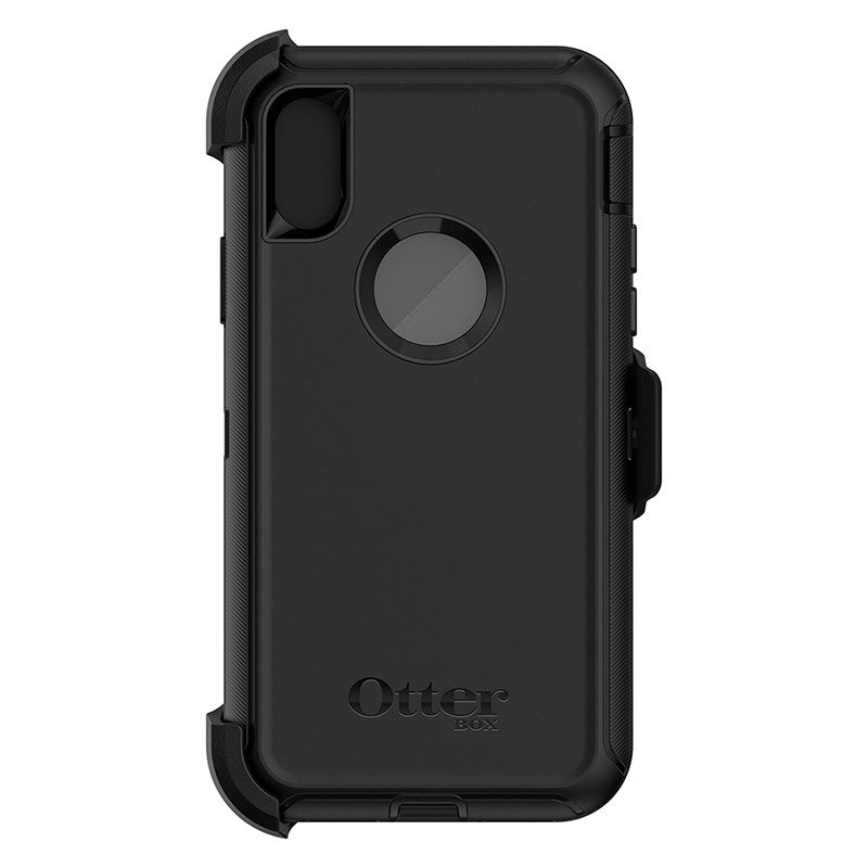 OTTERBOX DEFENDER SCREENLESS EDITION RUGGED CASE FOR IPHONE XS/X - BLACK - Gearlyst