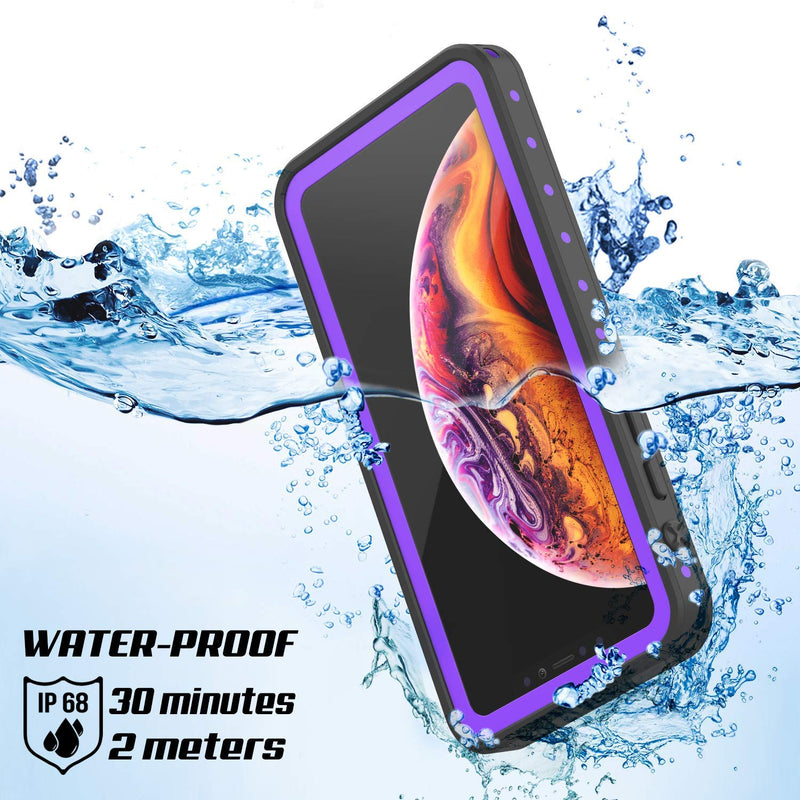 UDUN iPhone Xs Max Waterproof Shockproof Rugged Case  - Violet - Gearlyst