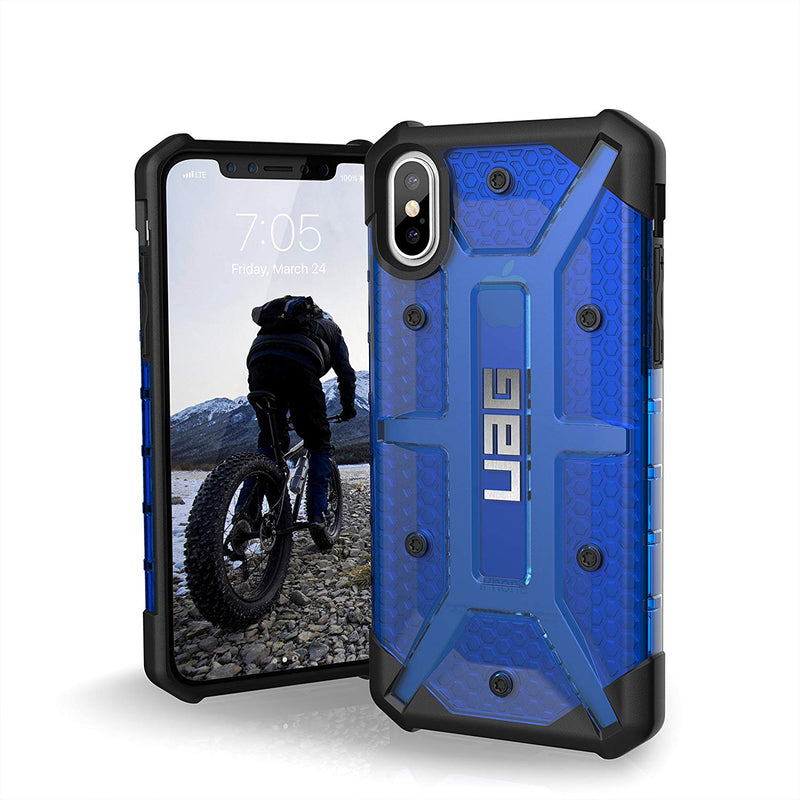 UAG Plasma Military Drop Tested Case for iPhone X/Xs - Cobalt