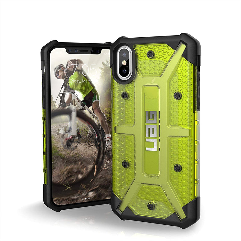 UAG Plasma Military Drop Tested Rugged Case for iPhone X/Xs - Citron