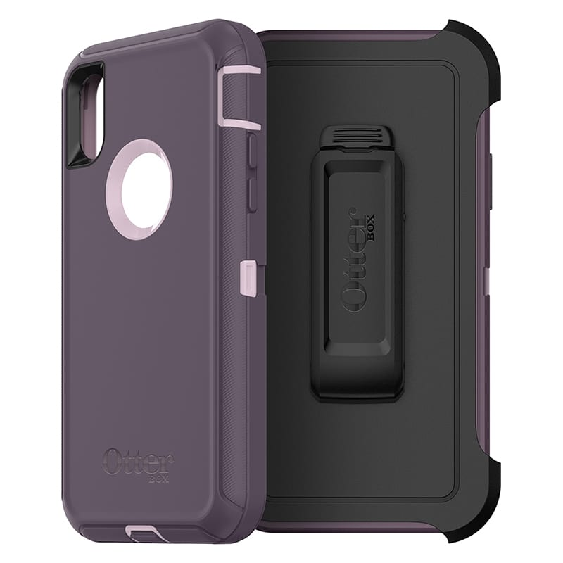 OtterBox Defender Rugged Case For iPhone X/Xs - Purple Nebula - Gearlyst
