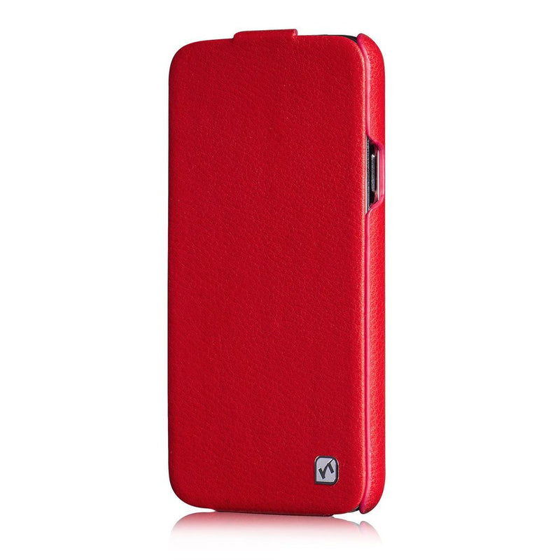 HOCO Duke Flip Leather Cover for Samsung Galaxy S5 - Red - Gearlyst