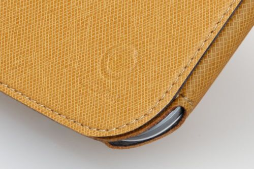 GGMM Flip-S Microfiber Luxury Case for Samsung Galaxy S3 - Yellow - Gearlyst