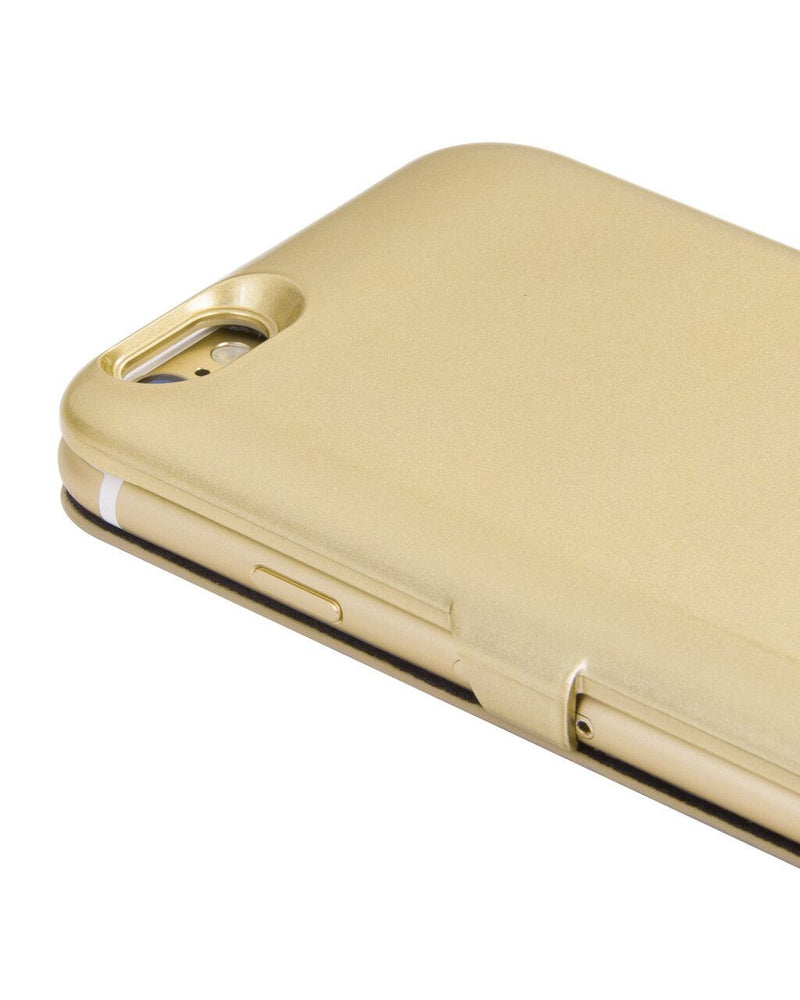 HOCO Leather Cover Battery Case for iPhone 6 / iPhone 6s - Gold - Gearlyst