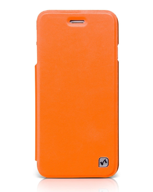 HOCO In-Design Series Leather Case (Yellow+Orange) for iPhone 6 / iPhone 6s - Gearlyst