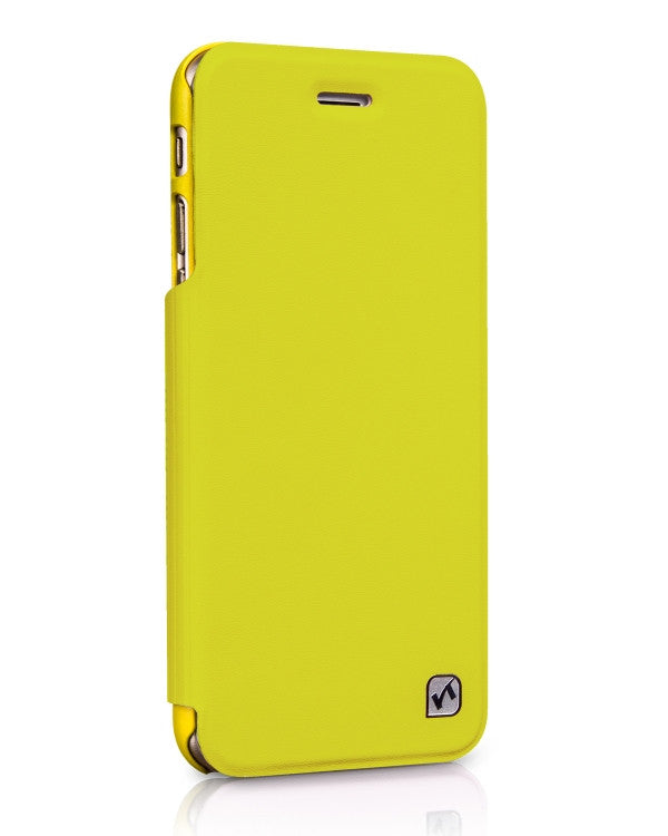 HOCO In-Design Series Leather Case (Green+Yellow) for iPhone 6 / iPhone 6s - Gearlyst
