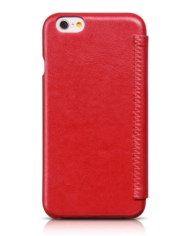 HOCO Premium Series Luxury Leather Cover for iPhone 6/6s  - Red - Gearlyst