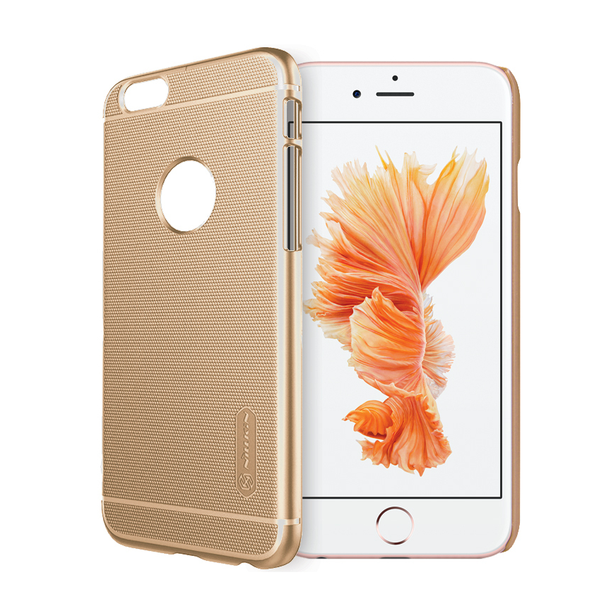 Nillkin Super Frosted Shield Case for iPhone 6 Plus / 6s Plus - Gold - Gearlyst