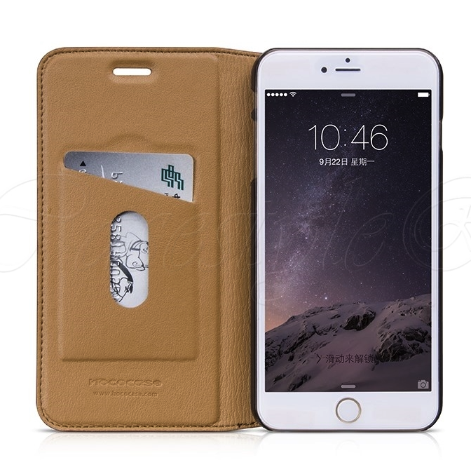 HOCO Luxury Series Leather Case (Sapphire) for iPhone 6 Plus / iPhone 6s Plus - Gearlyst