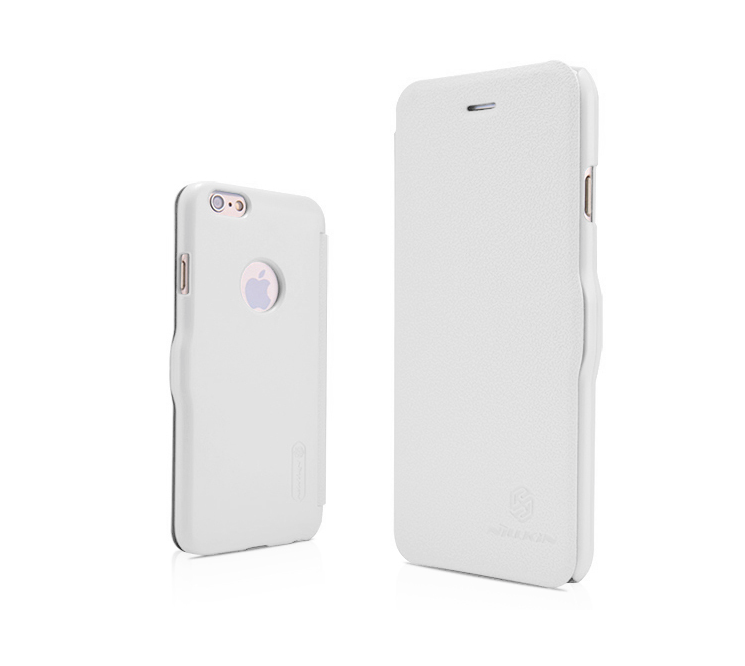 Nillkin Fresh iPhone 6 Plus /6s Plus super Slim Magnetic Closure Case - White - Gearlyst