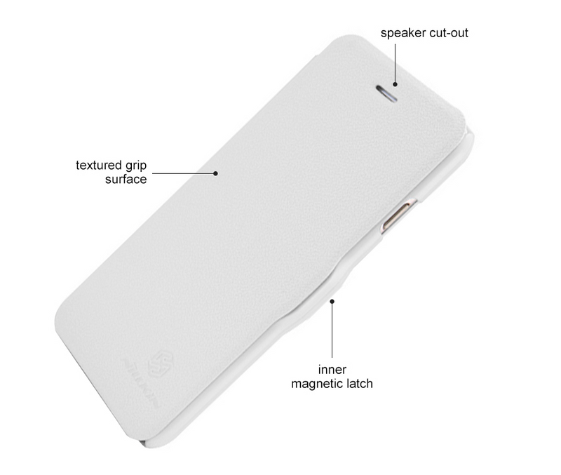 Nillkin Fresh Super Slim Magnetic Closure Case for iPhone 6/6s - White