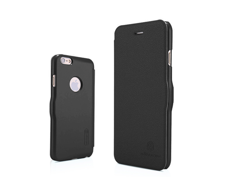 Nillkin Fresh iPhone 6 / 6s Super Slim Magnetic Closure Case - Black - Gearlyst