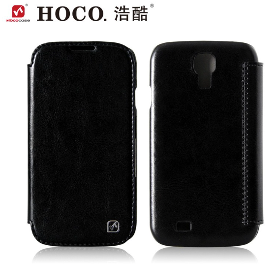 HOCO Original Series Leather Case for Samsung Galaxy S4 - Black - Gearlyst