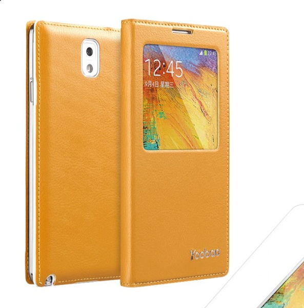 Yoobao Galaxy S3 (N9000) Slim Leather Smart Window Case - Gearlyst