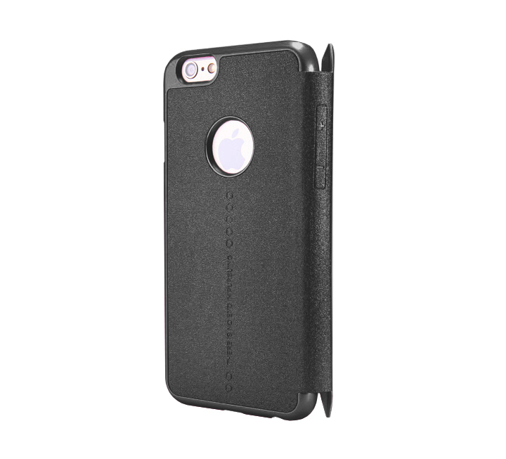 Nillkin iPhone 6 Plus /6s Plus Sparkle Slim Leather Case with Credit Card Pocket - Black - Gearlyst