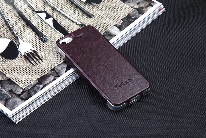Yoobao iPhone 5/5s Beauty Genuine Leather Flip Case - Gearlyst