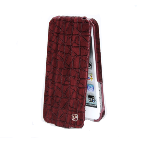 HOCO Knight Leather Flip Case for iPhone 5/5s - Gearlyst