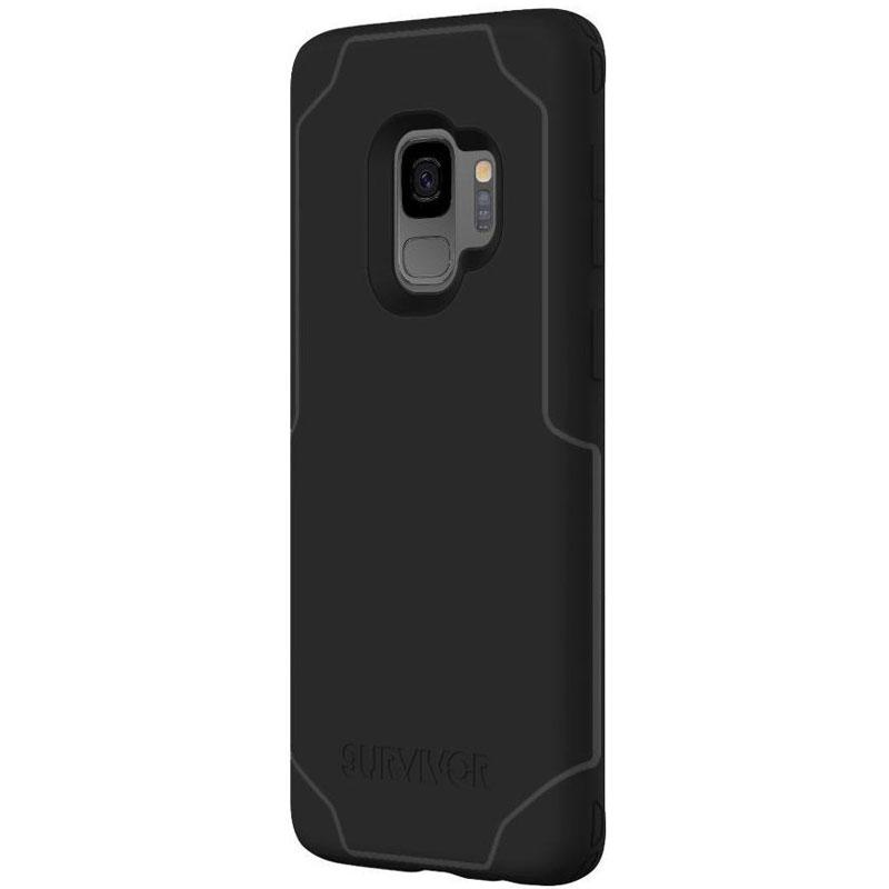 Griffin Survivor Strong ShockProof Case for Galaxy S9 - Black/Grey - Gearlyst