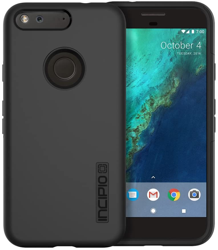 Incipio DualPro Case for Google Pixel XL Smartphone - Black
