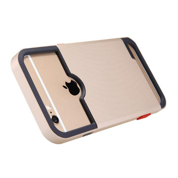 Nillkin iPhone 6 Plus /6s Plus Shield Show Camera Case - Gold - Gearlyst