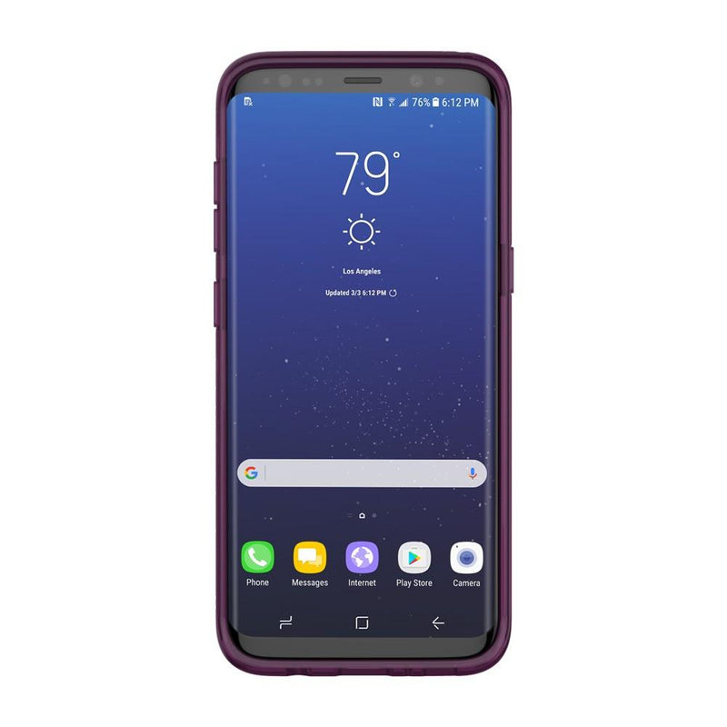 Incipio Octane Pure Shock-Absorbing Case for Samsung Galaxy S8+ - Plum - Gearlyst