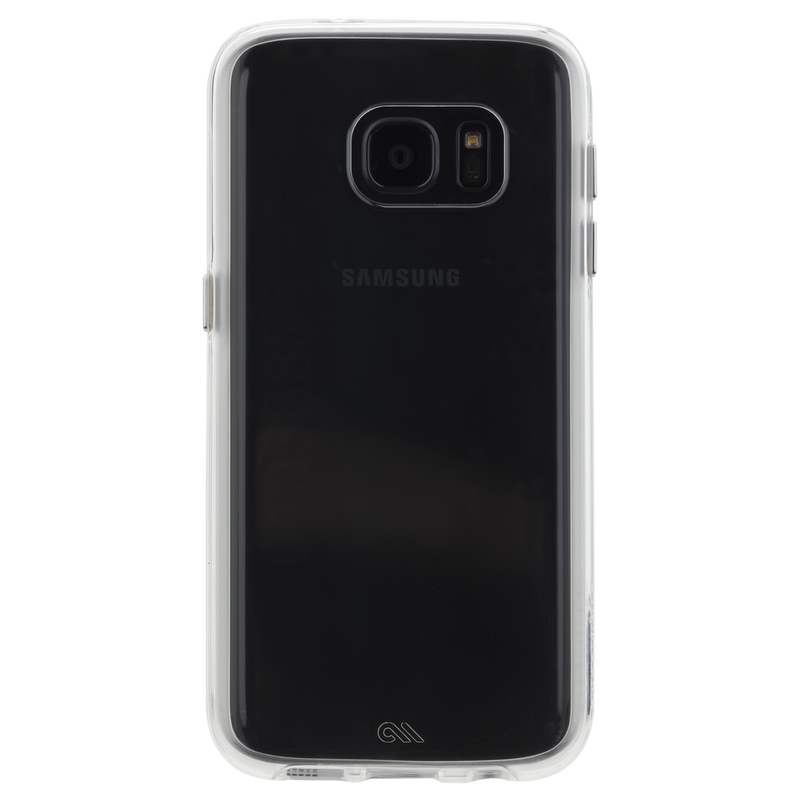Case-Mate Naked Tough Case Dual Layer for Samsung Galaxy S7 - Clear /Clear Bumper - Gearlyst