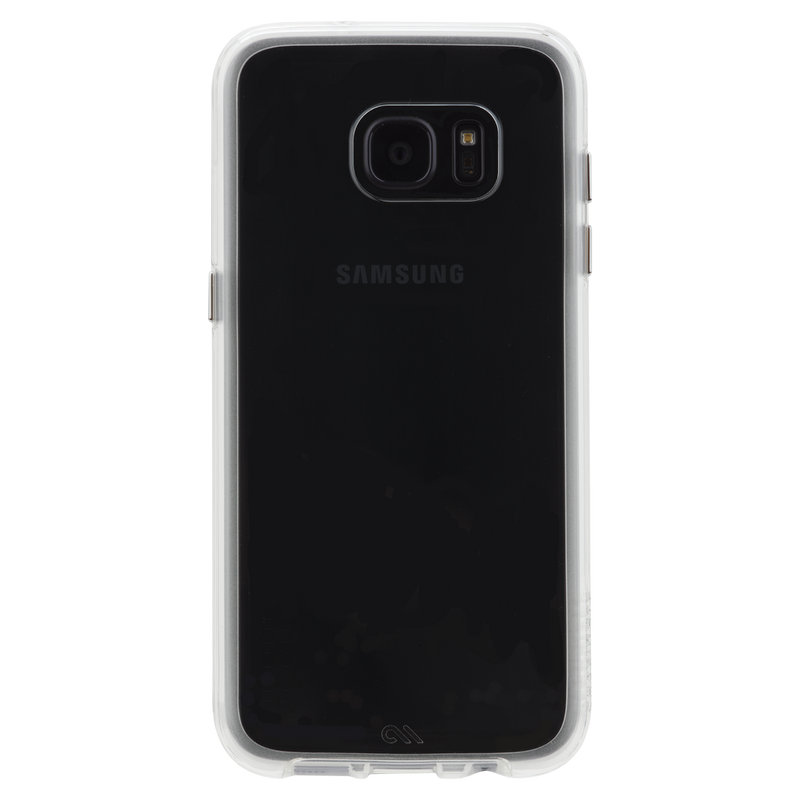 Case-Mate Naked Tough Case Dual layer for Samsung Galaxy S7 Edge - Clear Bumper - Gearlyst