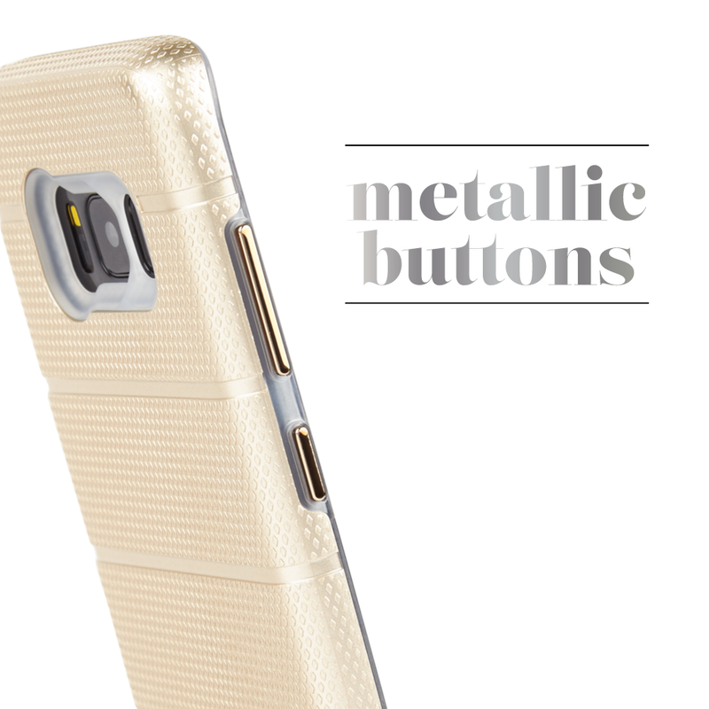 Case-Mate Tough Mag Case suits Samsung Galaxy S8+ - Champagne/Clear - Gearlyst