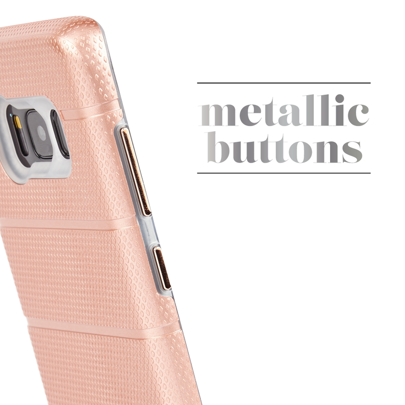 Case-Mate Tough Mag Case suits Samsung Galaxy S8 - Rose Gold/Clear - Gearlyst