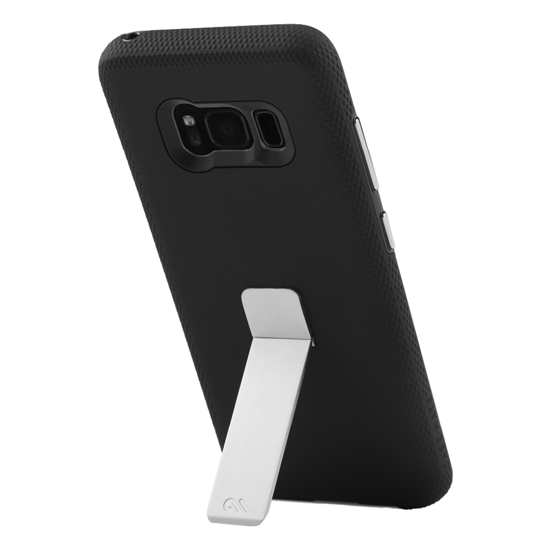 Case-Mate Tough Stand Dual-layered Case for Samsung Galaxy S8 - Black - Gearlyst