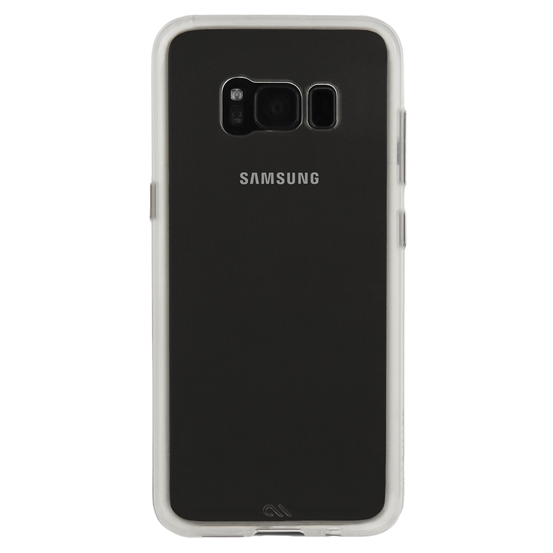 Case-Mate Naked Tough Dual-layer Case for Samsung Galaxy S8+ - Clear/Clear - Gearlyst