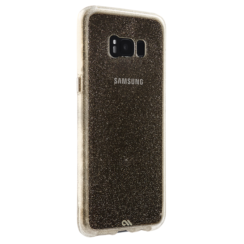 Case-Mate Naked Tough Case Sheer Glam for Samsung Galaxy S8+ - Champagne - Gearlyst
