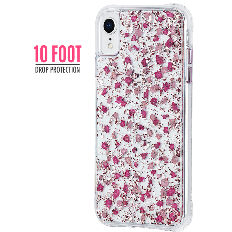 "Case-Mate Karat Petals Tough Slim Case for iPhone XR (6.1"") - Ditsy Flowers - Gearlyst"