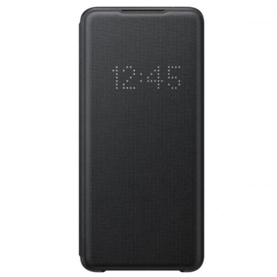 Official Samsung Galaxy S20 Ultra LED View Smart Cover - Black - Gearlyst
